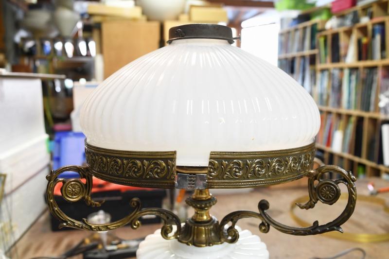 ランプベースの修理