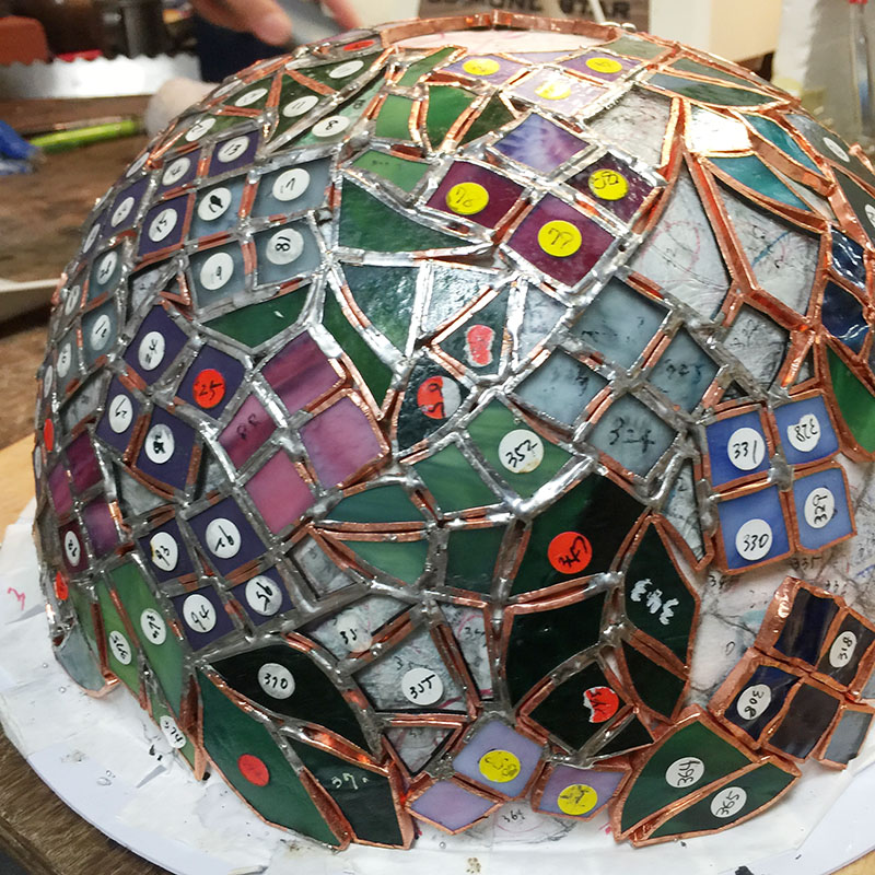 スタジオヤマノ, studioyamano, やりたいことをする, 作りたいものを作る, 使いたいもので作る, 大阪, 吹田, 北摂, 通販, ショップ, 店頭販売, 教室, ワークショップ, 体験教室, 出張教室, ステンドグラス, stainedglass, 材料, ガラス, glass, ランプ,Lamp,ランプシェード,Lampshade,紫陽花, アジサイ, Hydrangea ,