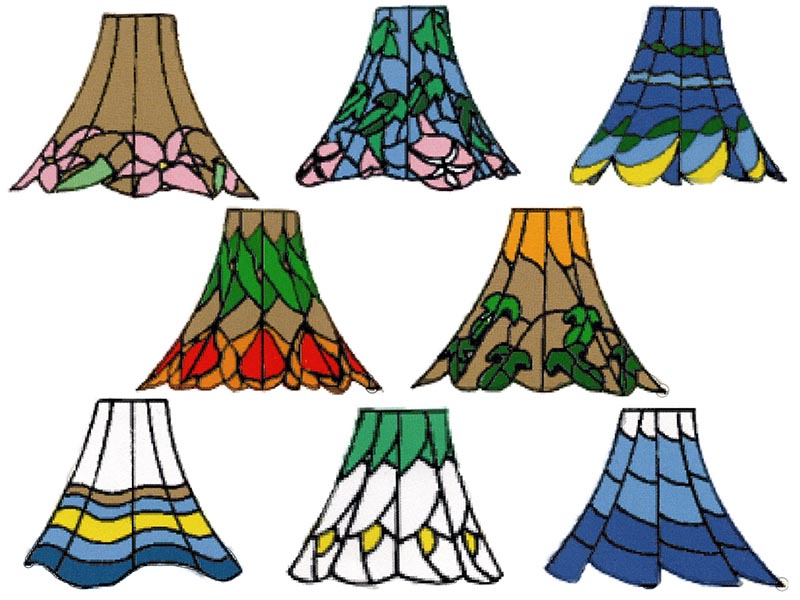 ステンドグラス,材料,ランプ,モールド,ランプモールド,ランプシェード,コンティ,STAINEDSANMAI,ステンド三昧,ステンドザインマイ,